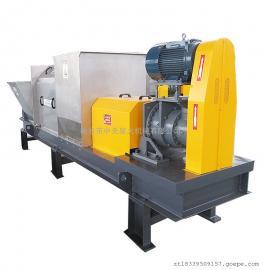 螺旋压榨机挤压机 餐厨垃圾处理设备