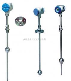 UHZ-158D顶装式磁翻板液位计 双色石英玻璃管液位计 磁性液位控制