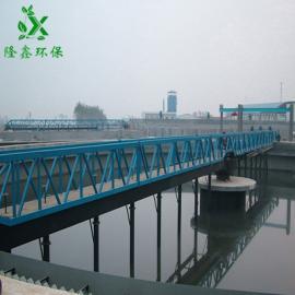 隆鑫十博体育 周边传动全桥式刮吸泥机