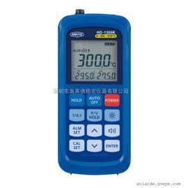 日本NARITSU安立HD-1350K带报警输出功能模具表面温度计 测温仪