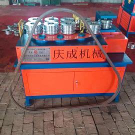不锈钢管滚动式折弯机 多功能方管圆管折弯机 猪产床弯曲设备