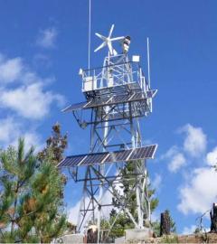 陕甘宁西北地区森林防火风光互补监控系统-风光互补发电-英飞