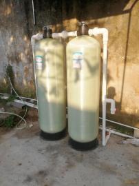 洗衣房前置大型除铁锰设备 井水除氟除铁过滤器定制 多介质过滤