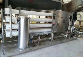 食品厂用纯净水设备 反渗透纯水处理系统定制 大型水处理系统
