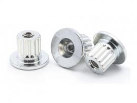 非标螺母定制 钣金焊接螺母 开槽螺母订做