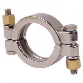 高压卡箍双螺栓两边对夹不锈钢精铸快装卡箍