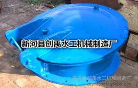 圆形壁挂式HDPE拍门DN400 高密度聚乙烯防倒灌止回阀