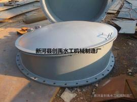 FPM玻璃钢浮箱圆拍门 圆铸铁拍门 浮箱式圆拍门 HDPE拍门