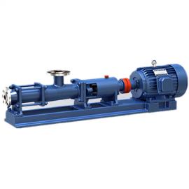 优质G20-1单螺杆泵 G25-2型排污单螺杆泵