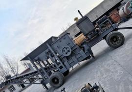 广朋移动破碎站 移动式破碎机碎石机设备
