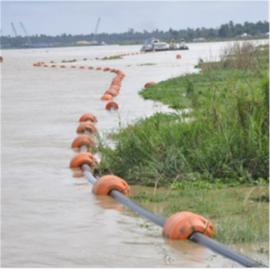 管道抽沙浮筒 挖沙船专用浮筒 塑料浮筒大量现货