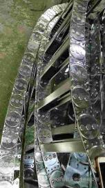 TL325型能源钢制拖链 大型框架式拖链厂