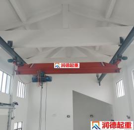 定做LX型10t手动单梁悬挂起重机 悬挂行吊 泵房专用起重机
