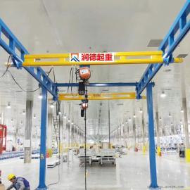 轻型起重机轨道型工位吊立式悬臂起重机