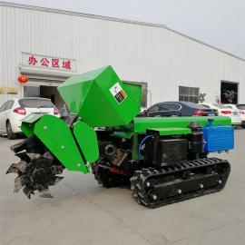 小型开沟机 大马力履带旋耕机 多功能农用开沟机