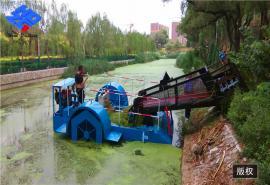 水花生收割船 河道治理船 全自动保洁船