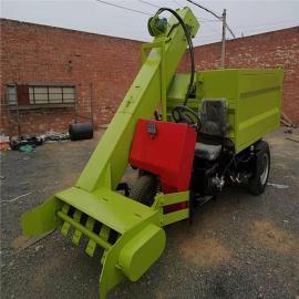 柴油清粪车 自动清粪设备 小型多功能清粪车