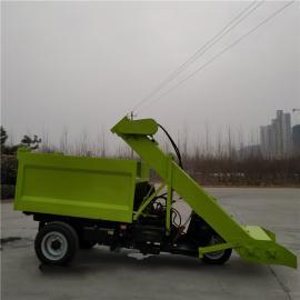 多功能环保清粪车 三轮刮粪机 清粪车自动化