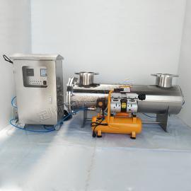 定州净淼新型过流式紫外线消毒杀菌器JM-UVC-1200