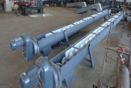 华尔源水处理无轴螺旋输送机泥饼输送机螺旋输送机