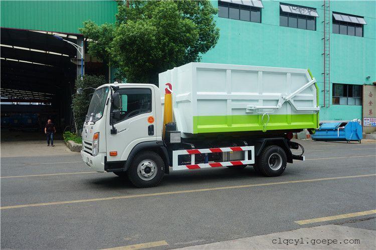 1.5吨车厢可卸式垃圾车价位
