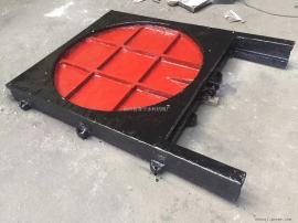 SYZ铸铁镶铜圆闸门700/800/900/1000提供预埋钢板图纸