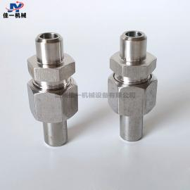 仪表专用不锈钢焊接终端接头 对焊式直通终端接头 对焊活接头