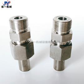 仪表专用外螺纹焊接终端接头 外螺纹直通终端接头 变送器转接头
