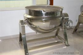 电加热酱牛肉蒸煮锅 可倾式鸭脖蒸煮锅 安邦制造