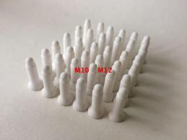 螺母焊接陶瓷定位销M4M5M6M8M10M12点焊机陶瓷定位销点焊机焊头