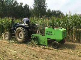 拖拉机带动玉米秸秆打捆机 稻草 牧草捡拾打捆机