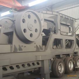 移动式破碎机砂石线整套移动破碎分筛站石料制砂生产线常用设备
