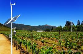 葡萄庄园风光互补智慧监控系统-风光互补系统-英飞