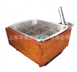 赫高Hatco IRCTHW-2 5.5L台上电磁关东煮机(双锅嵌入式控制面板)