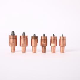 螺母凸焊下电极 KCF定位销绝缘电极芯 螺母凸焊下电极定制