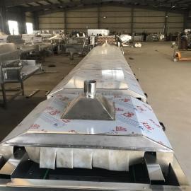 304不锈钢小龙虾蒸煮机生产线 安邦�C械匠心制造