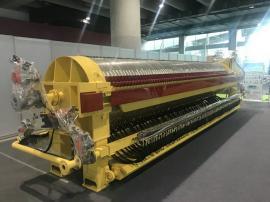 圆形自动压滤机是加压过滤设备,高浓度废水处理压滤机