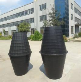 农村改厕家用 双瓮化粪池 塑料化粪池 一立方