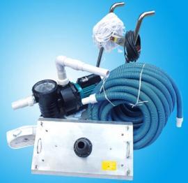 游泳池吸污泵 泳池水处理设备 手动式吸污机鱼池景观池清洗机