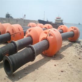 水上抽沙船浮筒 内径尺寸52公分管道专用浮筒 欢迎咨询