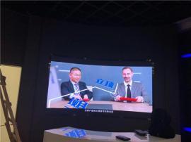 国星与晶台封装高清会议室P2.0LED电子显示屏效果区别