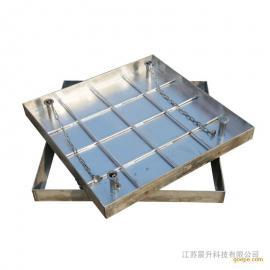 不锈钢隐形井盖 防盗下沉式井盖 方形不锈钢井盖