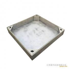 晨升科技井盖 304不锈钢隐形井盖方形井盖铺装装饰窨井盖定制