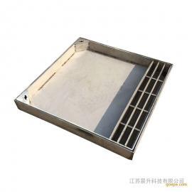 圆形304不锈钢井盖雨水井盖不锈钢隐形井盖检查井井盖