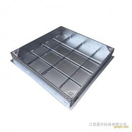 不锈钢井盖 方形隐形井盖 市政铺装雨水井盖