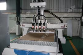 板式家具四工序开料机-致品四工序四个主轴自动切换开料机