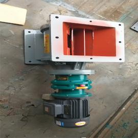 YJD-HX-16(300*300)刚性叶轮给料机结构配置参数安装孔距