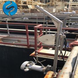 复叶潜水搅拌器QJB0.85/8 调节池潜水搅拌机