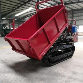 小型手推式运输车 液压翻斗车 多功能运输车