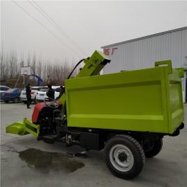 小型清粪车设备 牛场粪便处理车 清粪运粪一体机